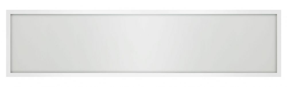 Bell Lighting 10023 36W Arial LED Panel - 1200x300mm, 4000K, White Rim, Emergency, Surface Mounted
